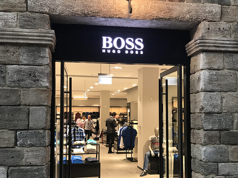 Hugo Boss - Clothes & Accessories | The Outlet Village